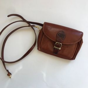 Vintage Leather Cross Body/Fanny Pack Bag